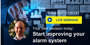 Webinar Your best decision today- Start improving your alarm system