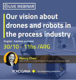 Our vision about drones and robots in the process industry